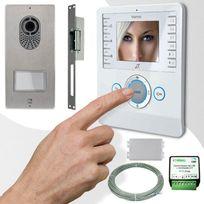 CAME - Interphone vidéo BIANCA PLACO TOP adapté installations 001CK0004PLUS