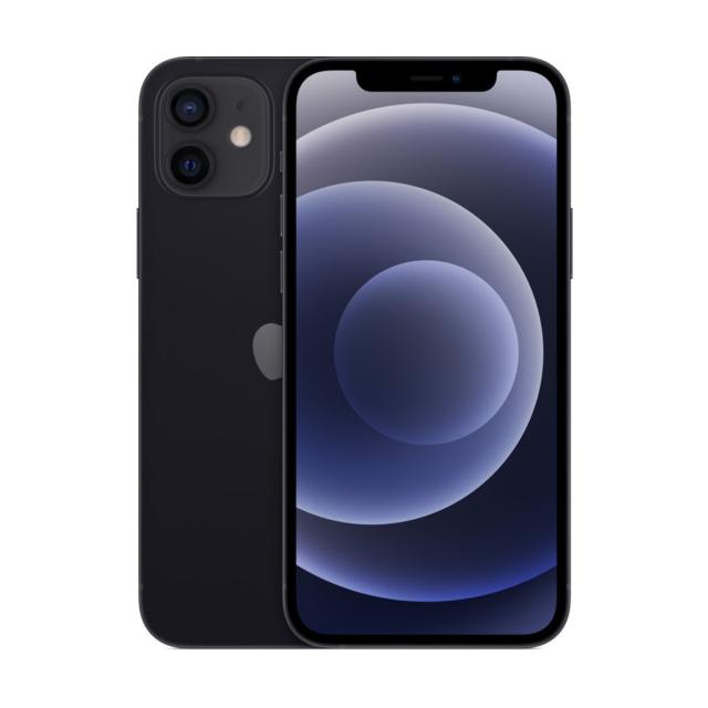 APPLE iPhone 12 - 64 Go - Noir