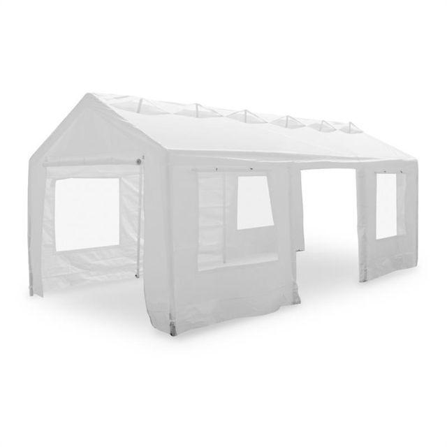 BLUMFELDT Lofty Palace Pavillon Tente de réception 3x6m Auvent Ventilation
