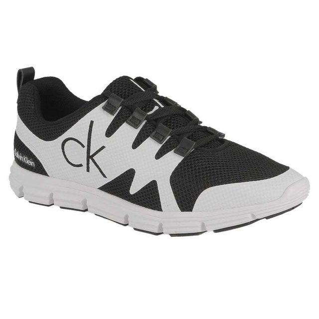 1e5b4cd02b12cc Marque Generique - Calvin Klein Jeans Murphy mesh rubber spread black white  Se8525BWT