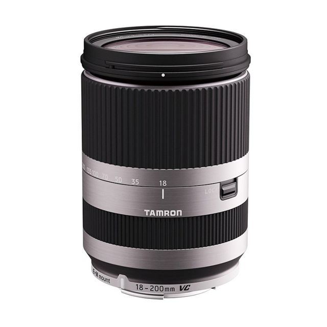 tamron objectif 18 200 mm f 3 5 6 3 di iii vc b011ems silver pour eos m pas cher achat vente. Black Bedroom Furniture Sets. Home Design Ideas