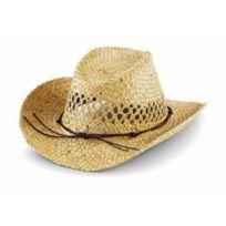 Beechfield - Chapeau Paille naturelle - beige - B735 - taille unique - mixte homme femme
