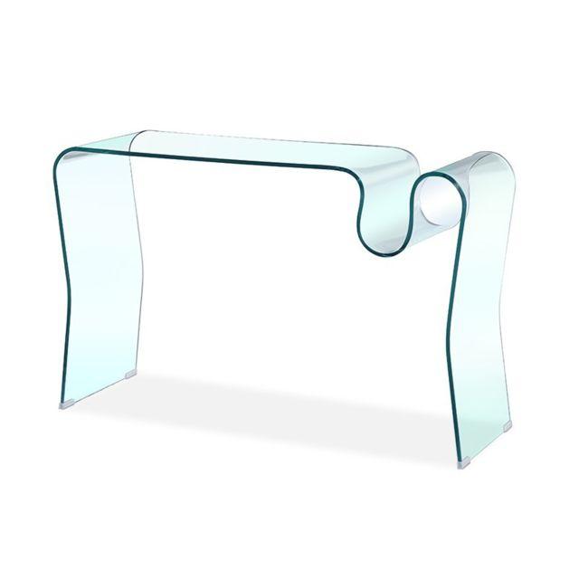 Meubler Design Console en verre design Laurie