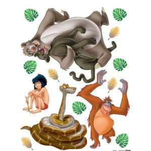 simple bebe gavroche stickers gant mowgli le livre de la jungle disney multicolore with stickers geant disney - Disney Bebe