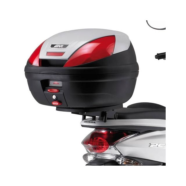 givi support top case monolock sr1136 honda pcx 125. Black Bedroom Furniture Sets. Home Design Ideas