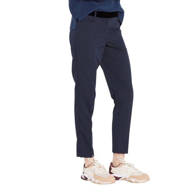 School Rag - Pantalon Tailleur Slim Ceinture