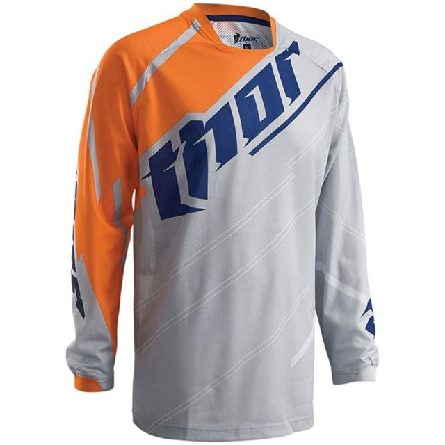 Thor Maillot Cross Adulte Sector Blade Blanc//Bleu Taille XXL