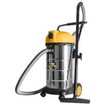 Vito Pro-power - Aspirateur eau poussieres Vitopower 1200W Cuve inox 40L Souffleur Tuyau 2,5m Accessoires Filtre embouts brosse