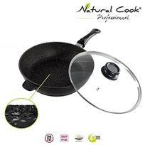 Natural Cook Professionnel - Sauteuse en pierre granité et céramique - tous feux