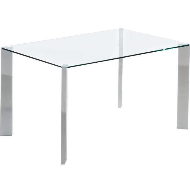 Table COMFORIUM design manger plateau à avec en verre myN08nwOv