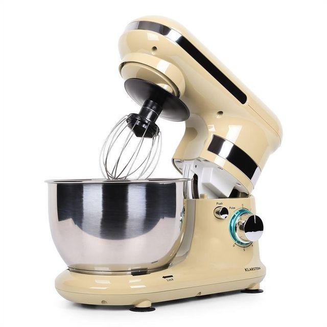KLARSTEIN Serena Morena Robot de cuisine 600W -creme
