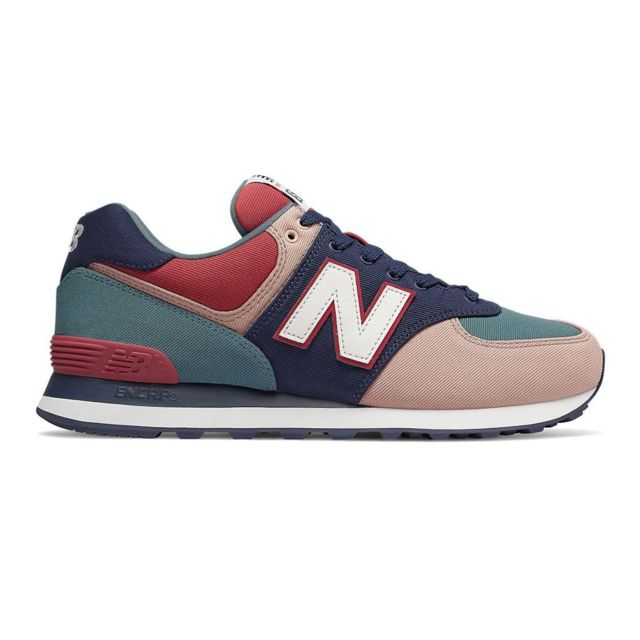 52086b908a5d New Balance - Chaussures 574 Bleu canard - pas cher Achat / Vente  Chaussures fitness - RueDuCommerce
