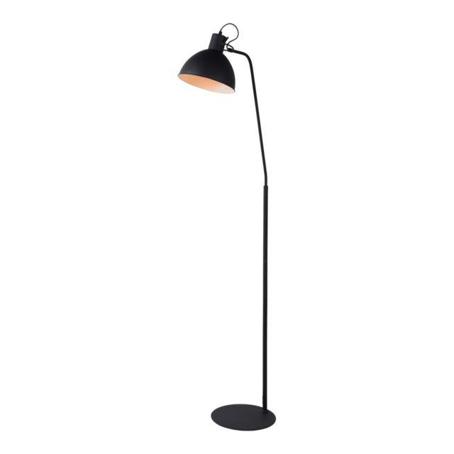 Lampea Lampadaire Industriel En Métal Noir Campino 28cm X