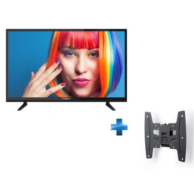 polaroid tv led 32 pouces solid 19 42 inclinable pas cher achat vente tv led 32 39 39 et. Black Bedroom Furniture Sets. Home Design Ideas
