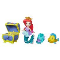 Hasbro - Mini poupée Disney Princesses : Le coffre aux trésors d'Ariel