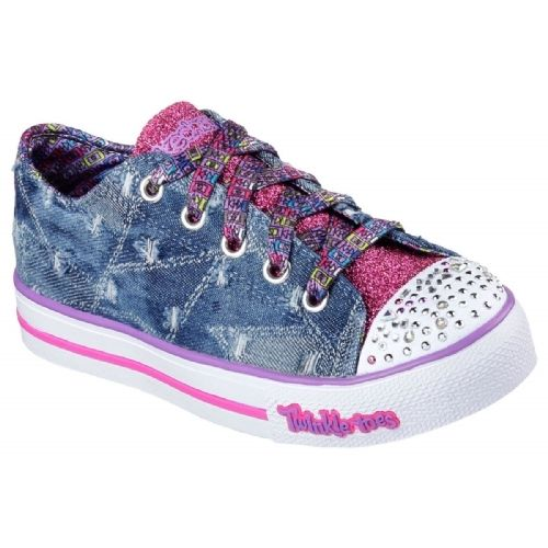 Fille Pas Cher Chaussure Skechers Achat Twinkle Toes dxBWroCe