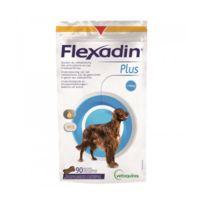 Flexadin - Complément alimentaire Plus Maxi articulations pour chien + 10 kg 90 bouchées