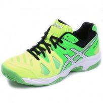 Asics - Chaussures Gel Game 5 Gs Tennis Vert Garçon