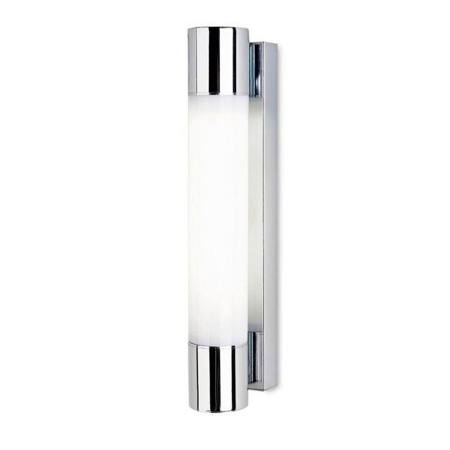 Leds C4 Applique Dresde, chrome et acrylique, 37 cm