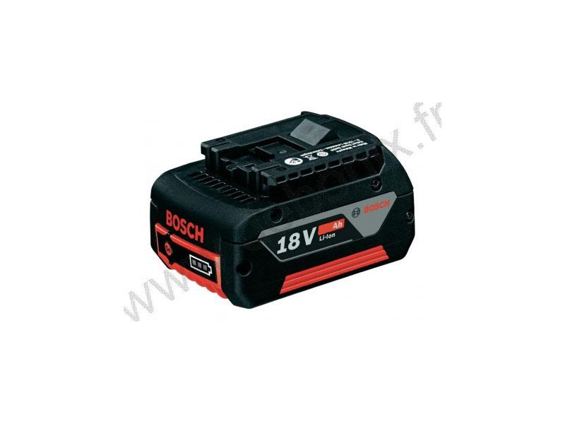 Batterie coulissante 18V 5Ah Li-Ion GBA 18 V 5,0 Ah M-C 1600A002U5