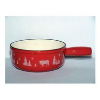 table&cook - poêlon en fonte émaillée 23cm rouge - 3008189reda