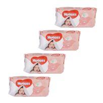 Huggies - Lot de 224 Lingettes pour bébé - Soft Skin