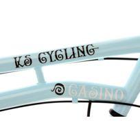 Vélo de ville femme 28'' 3 vitesses Casino bleu TC 54 cm