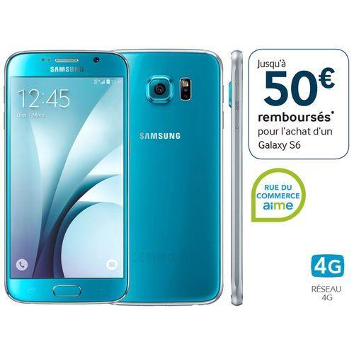 Samsung Galaxy S6 32Go bleu