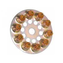 SPIT - 031700 Disque charge à poudre 6.3/10 moyenne - Jaune - Boîte de 100