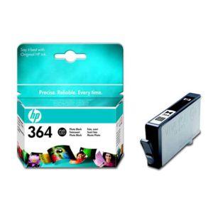 HP - Cartouche d'encre Noire Photo n° 364 - CB317EE - Capacité 130 pages
