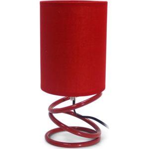 privatefloor lampe de chevet ressort rouge pas cher achat vente lampes de bureau. Black Bedroom Furniture Sets. Home Design Ideas