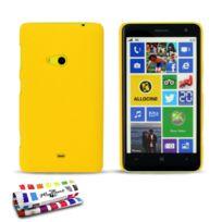 "Muzzano - Coque Rigide Ultra-Slim Le ""Pearls"" Premium Jaune pour Nokia Lumia 625"