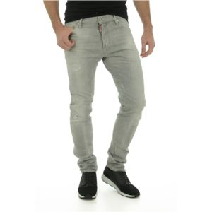 Dsquared2 - Jean Gris Slim Stretch S74lb0004 Les Gris - 56