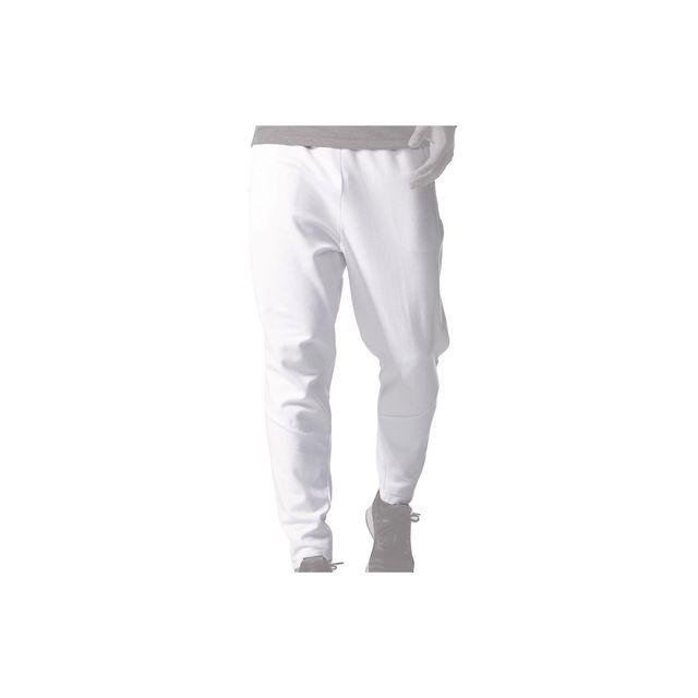 Adidas originals - Pantalon de survêtement Zne - Az3007 Blanc - pas cher  Achat   Vente Survêtement homme - RueDuCommerce a38ee262165a