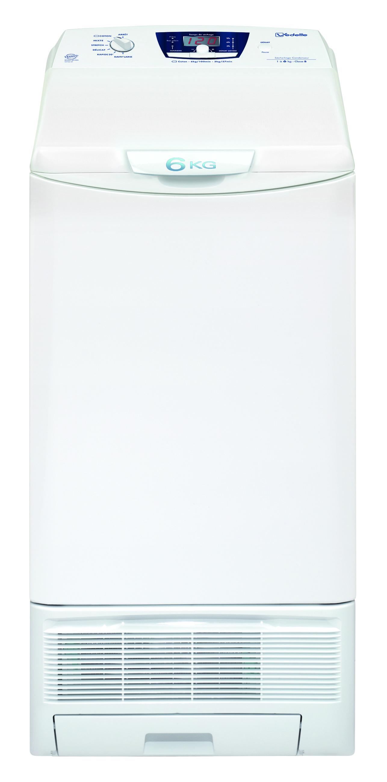 meilleur seche linge condensation vedette pas cher. Black Bedroom Furniture Sets. Home Design Ideas