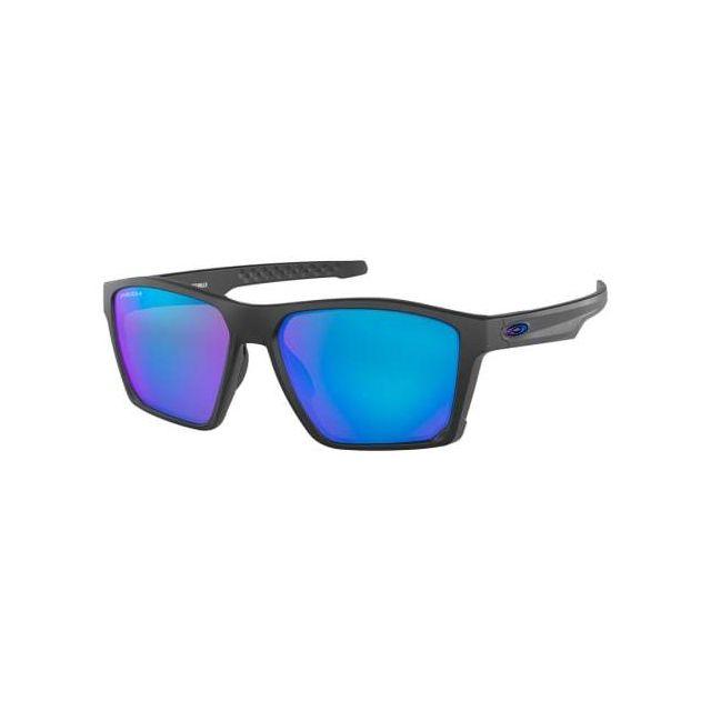 e06019d88c806 Oakley - Lunettes Targetline Matte Black avec verres Prizm Sapphire - pas  cher Achat   Vente Lunettes - RueDuCommerce