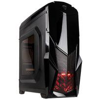 MARS GAMING - Boitier PC ATX MC416 - Noir avec fenêtre