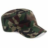 Beechfield - Casquette militaire cubaine army camouflage - B33 - jungle camo - vert