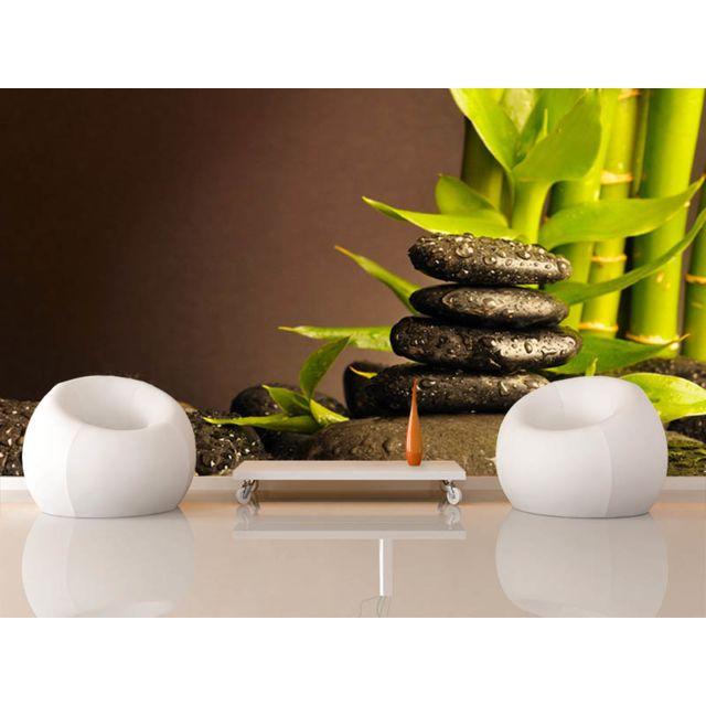 declina papier peint deco adh sif zen top vente poster xxl mural pas cher achat vente. Black Bedroom Furniture Sets. Home Design Ideas