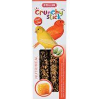 Zolux - Crunchy Stick Canaris Alpiste/MIEL 85G