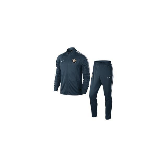 Nike - Survêtement Inter Milan Dry - 809632-464 - pas cher Achat   Vente  Clubs italiens - RueDuCommerce 0c520822e3d