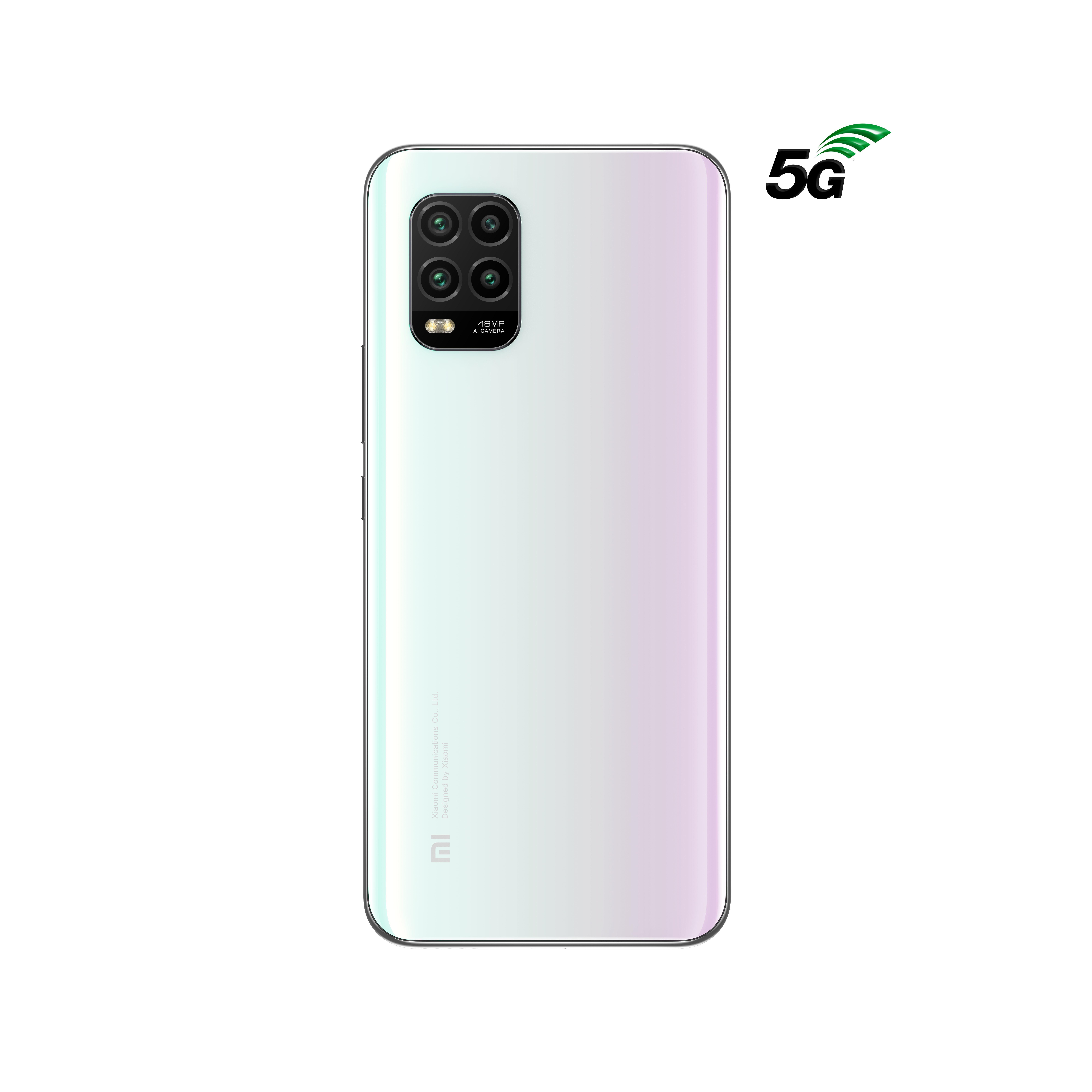 Mi 10 Lite 5G - 6/128 Go - Blanc