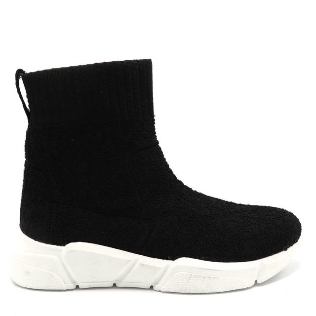 best deals on reasonably priced 100% top quality Bronx - Basket Chaussette Noir - pas cher Achat / Vente ...