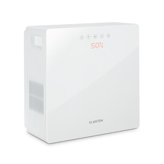 KLARSTEIN PurePal Purificateur & humidificateur d'air réservoir 3l filtre actif
