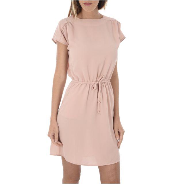 Vero moda - Robe Fluide Cintrée Sasha - pas cher Achat   Vente Robes -  RueDuCommerce a9a091dba34d
