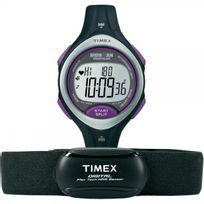 Timex - Montre Femme Ironman Chrono Résine Noir T5K723HE Sport - 100 Mètres