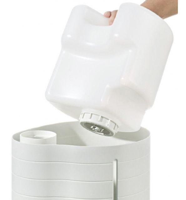 BEURER Humidificateur d'air LB 50 40 m2 Avec vaporisateur d'eau Sans bactéries et d'hygiénique Réservoir d'eau amovible, avec plaquette anti-calcaire Adapté à des pièces jusqu'à 40 m² Fonctionnement si
