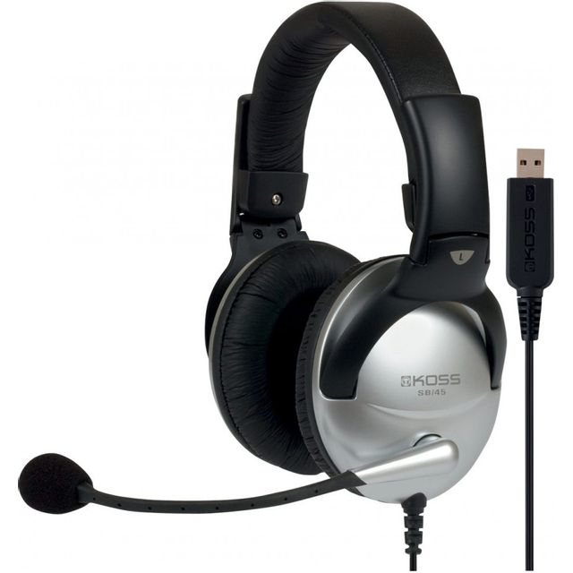 Koss Sb45-USB - Casque micro connection Usb