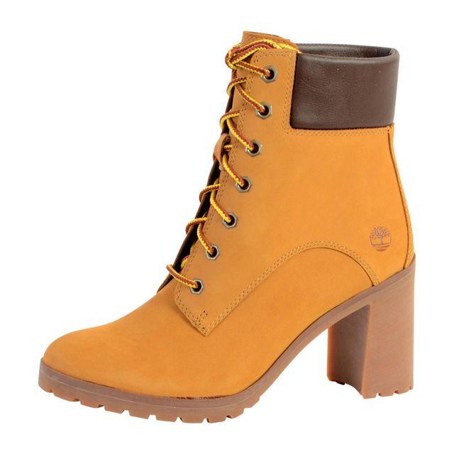 62f6b686677 Timberland - Chaussure Allington 6 Inch Lace U Wheat A1HLS - pas cher Achat    Vente Bottes femme - RueDuCommerce
