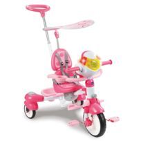 Vtech - Super tricycle interactif 6 en 1 : Rose
